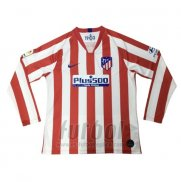 Camiseta Atletico Madrid Primera Manga Larga 2019-2020