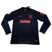 Camiseta Atletico Madrid Segunda Manga Larga 2019-2020