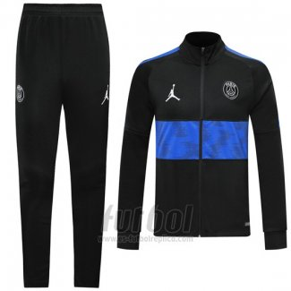 Chandal del Paris Saint-Germain 2019-2020 Negro y Azul