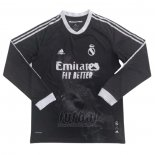 Camiseta Real Madrid Human Race Manga Larga 2020-2021