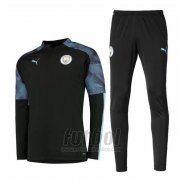 Chandal del Manchester City 2019-2020 Negro