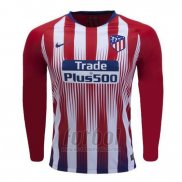 Camiseta Atletico Madrid Primera Manga Larga 2018-2019