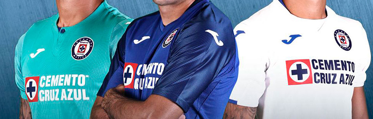 camisetas Cruz Azul