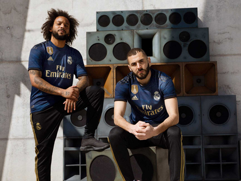 Replicas de camisetas Real Madrid 2019-2020